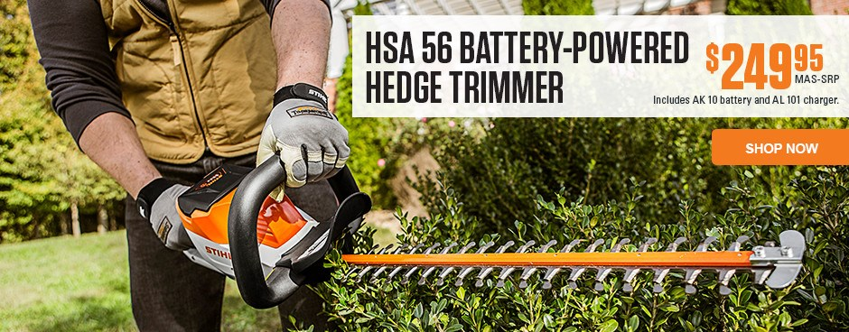 HSA 56 Battery-Powered Hedge Trimmer